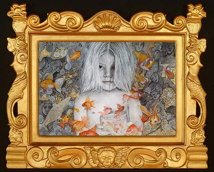 Sansovino Picture Frame with artwork